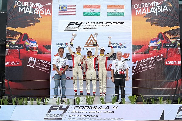 Sentul F4: Gowda wins Race 2, Nalwalla claims two podium finishes