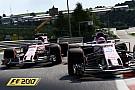 Геймплей F1 2017: 50 минут на дождевой «Спа»