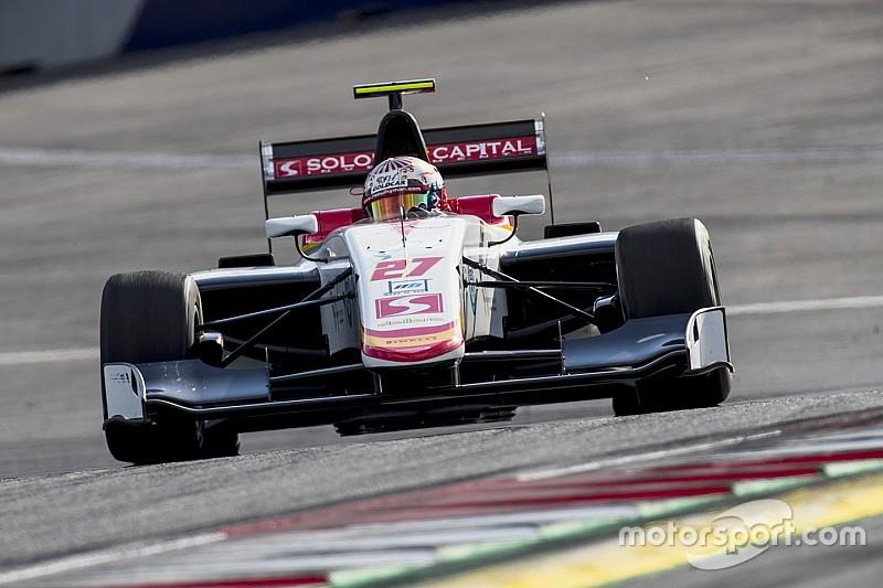 Raoul Hyman venció en el domingo de la GP3