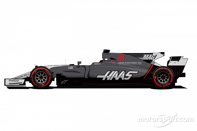 Haas cambia la decoración de sus coches