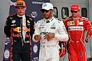 Képekben Hamilton 70. rajtelsősége: Vettel lecsúszott