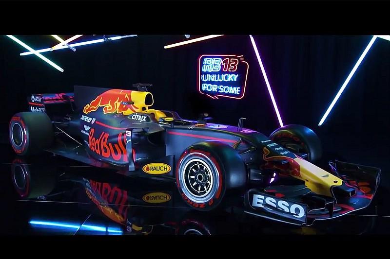 Red Bull presenteert nieuwe Formule 1-auto van Verstappen en Ricciardo