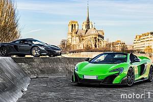 Auto Actualités Photos - Deux McLaren très spéciales se retrouvent à Paris