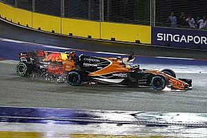 Formule 1 Actualités Alonso évite la pénalité moteur après le crash de Singapour