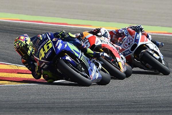MotoGP Los lectores de motorsport.com eligen a Rossi como el mejor del Gran Premio de Aragón