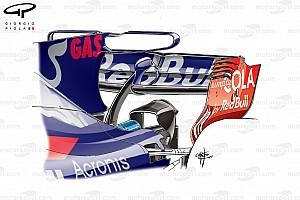 Formel 1 Fotostrecke Formel-1-Technik: Entwicklung des Toro Rosso STR12 in der Saison 2017
