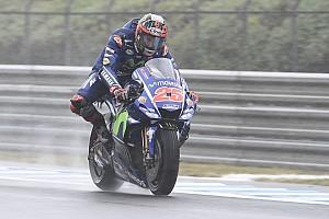 """MotoGP Noticias Viñales: """"En mojado hemos ido a peor durante todo el año"""""""