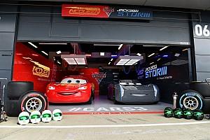 Formula 1 Top List GALERI: Lightning McQueen dan Jackson Storm datang ke Silverstone