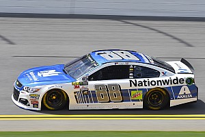 NASCAR Cup Qualifying report Dale Earnhardt Jr. takes pole position for Daytona Cup race