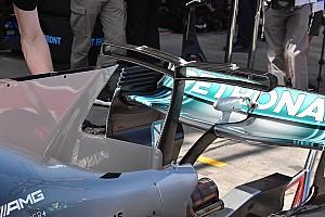 Formula 1 Analisi Mercedes: è tornato lo sfogo d'aria sulla pinna della W08!