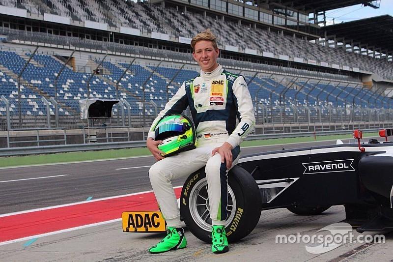 دايفيد رالف شوماخر ينتقل للمشاركة في الفورمولا 4 الألمانية في 2018