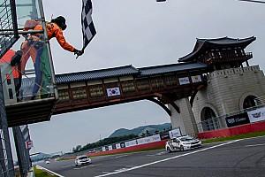 中国房车锦标赛CTCC 新闻稿 韩国主场摘金,小将张志强三连胜缔造新传说
