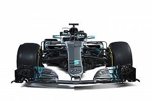 A nagy grafikai összehasonlítás a 2017-es és a 2018-as F1-es Mercedes között