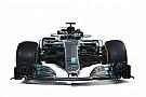 Fórmula 1 Compare os carros da Mercedes de 2017 e 2018