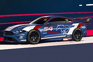 Supercars Breaking news Render of Supercars Mustang revealed