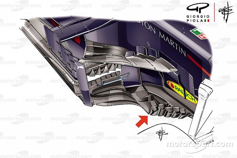 Análisis técnico: la agresiva aerodinámica de Red Bull