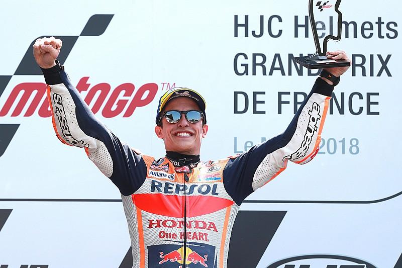 Гран Прі Франції: Маркес виграв гонку після падінь Зарко і Довіціозо