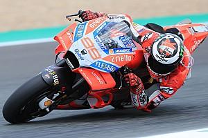 MotoGP Noticias Lorenzo está satisfecho con las mejoras que llevó Ducati a España