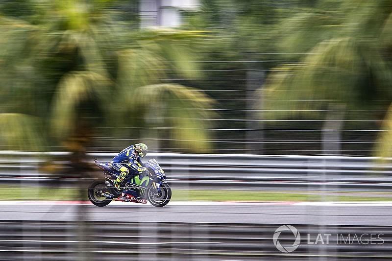 Yamaha in Sepang: Im Regen fehlt Valentino Rossi immer noch Grip