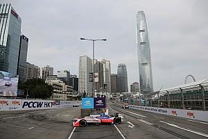 电动方程式 排位赛报告 香港ePrix周日排位赛:罗森奎斯特克服侧滑摘下杆位