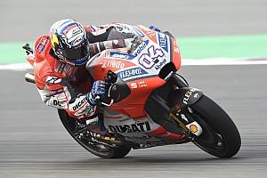 MotoGP Practice report FP2 MotoGP Qatar: Dovizioso tercepat lagi, Rossi kesembilan