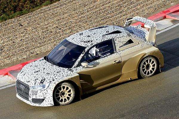 World Rallycross Breaking news Ekstrom's new Audi World RX challenger breaks cover