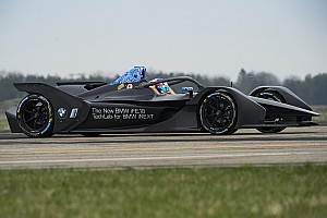 Fotogallery: i test della BMW iFE.18 di Formula E a Calafat