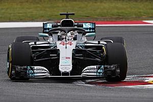 Formule 1 Résumé d'essais libres EL1 - Hamilton démarre le week-end du bon pied