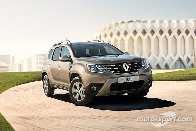 В Україні презентовані нові версії кросовера Renault Duster
