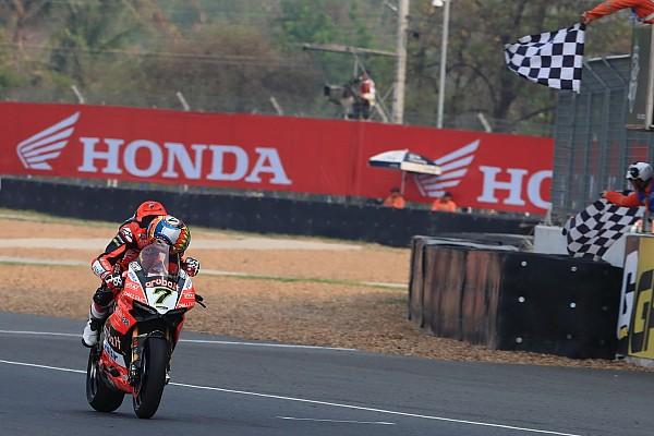 World Superbike Buriram WSBK: Davies wins, both Kawasakis suffer