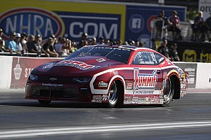 NHRA Qualifying report B. Force, Beckman, Anderson and Ellis current No. 1 qualifiers at season ending NHRA finals