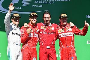 Формула 1 Результаты Положение в чемпионате пилотов и Кубке конструкторов после ГП Бразилии