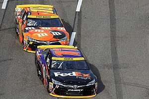NASCAR Cup Special feature JGR Martinsville radio drama: