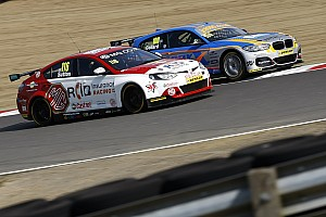 BTCC Qualifying report Donington BTCC: Sutton takes dramatic pole on a drying track