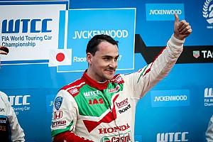 """WTCC Nieuws Michelisz ondanks missen WTCC-titel: """"Beste jaar van mijn leven"""""""