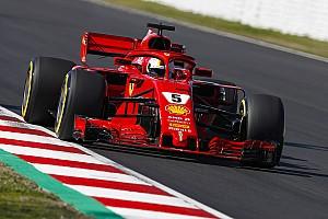 Formule 1 Résumé d'essais Barcelone, J5 - Vettel en tête, problèmes pour McLaren et Toro Rosso