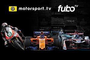 Motorsport.tv expands distribution in partnership with fuboTV