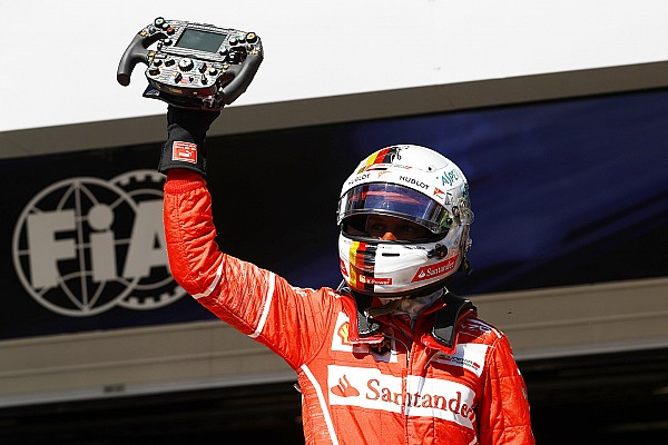 Heureux pour Ferrari, Vettel admet