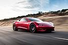 Prodotto Tesla Roadster, quella da 400 km/h