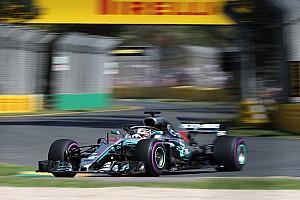 Australian GP: Hamilton tops first practice of F1 2018