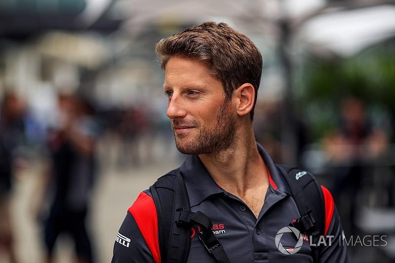 Romain Grosjean fue papá momentos antes del Año Nuevo