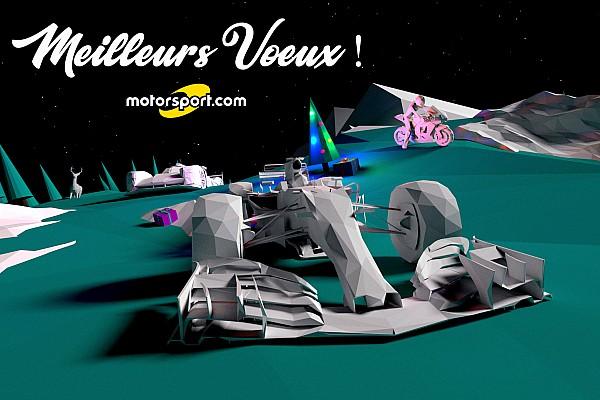 Formule 1 Contenu spécial Les vœux 2018 de la rédaction Motorsport.com France