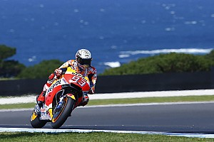 Márquez no se confía a pesar de la mala suerte de Dovizioso