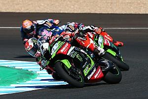 Superbike-WM Rennbericht WSBK Jerez: Melandris Ungeduld ermöglicht Rea den Sieg