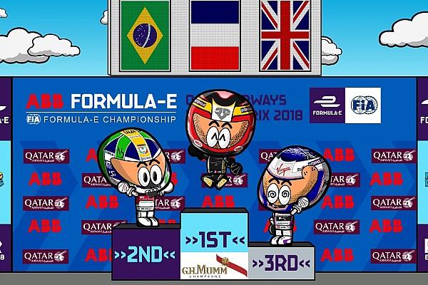 Fórmula E Vídeo: el curioso resumen del ePrix de París 2018, por 'MinEDrivers'