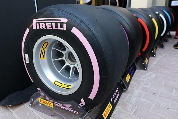 Formule 1 Actualités Pirelli dévoile sept pneus slicks différents pour 2018!