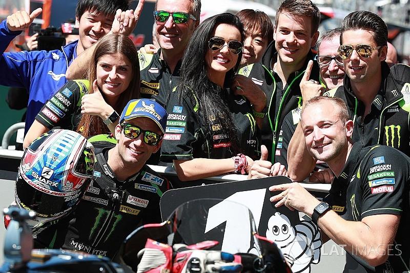 MotoGP Le Mans: Zarco pole'de, Crutchlow kaza yaptı