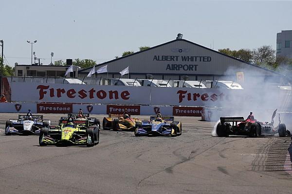 Rossi culpa Wickens por acidente na relargada em St. Pete