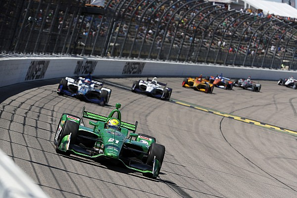 """IndyCar Pigot's first IndyCar podium a """"weight off the shoulders"""""""