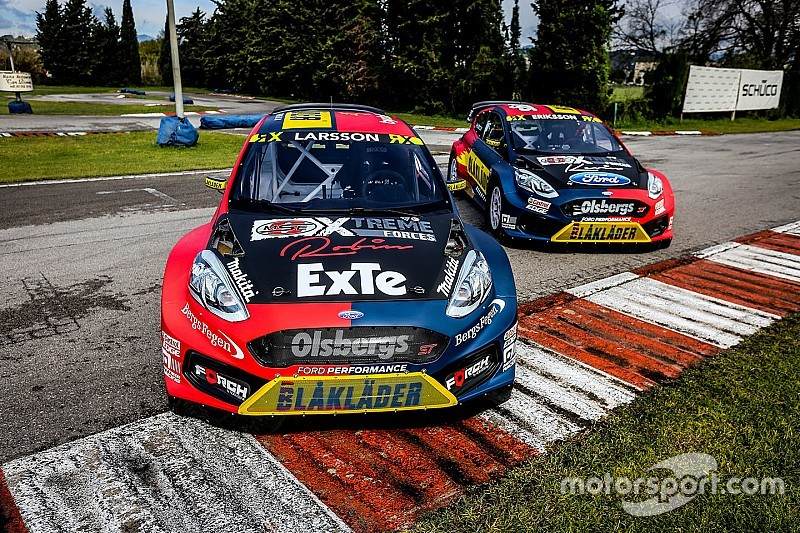 Olsbergs MSE reveals Fiesta World RX car built with Ford tie-up